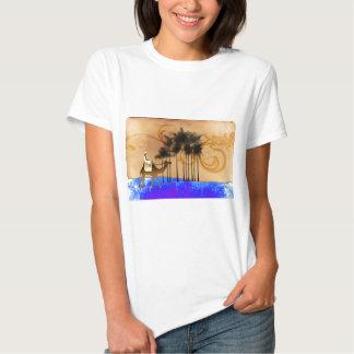 Presentes retros 44 do estilo do vintage de África T-shirts