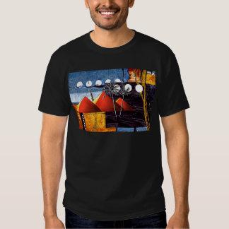 Presentes retros AF078 do estilo do vintage de Camisetas