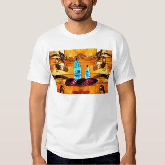 Presentes retros AF079 do estilo do vintage de T-shirts