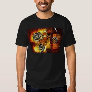Presentes retros AF093 do estilo do vintage de Camisetas
