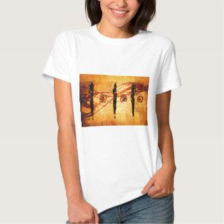 Presentes retros AF109 do estilo do vintage de T-shirts