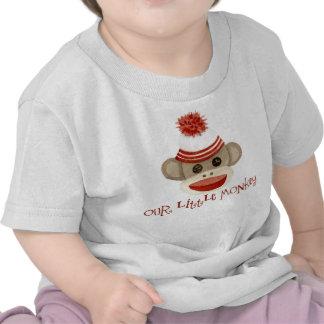 Presentes retros do bebé do boné de meia de w do camisetas