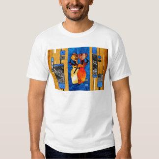presentes retros do estilo do vintage de af048 tshirt
