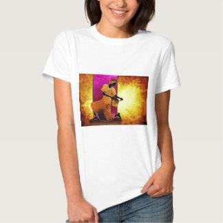 presentes retros do estilo do vintage de af078 Áfr Camiseta
