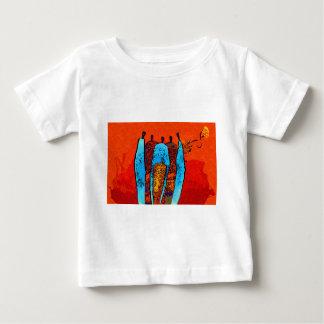 Presentes retros do estilo do vintage de África T-shirts