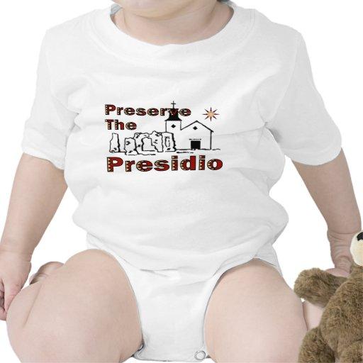 Preserve o Presidio para o bebê Macacãozinho Para Bebê