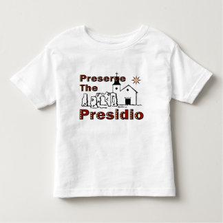 Preserve o t-shirt de Presidio Camiseta Infantil