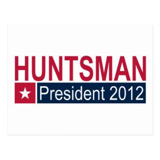 Presidente 2012 do caçador de Jon Cartão Postal
