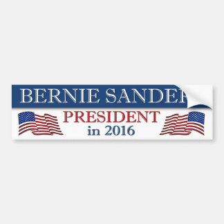 Presidente 2016 das máquinas de lixar de Bernie Adesivo Para Carro