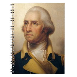 Presidente americano: George Washington Caderno Espiral