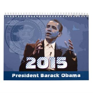 Presidente Barack Obama - calendário 2015