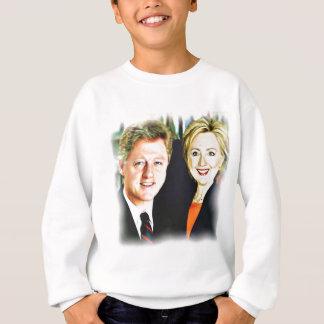 Presidente Bill Clinton & presidente Hillary Agasalho