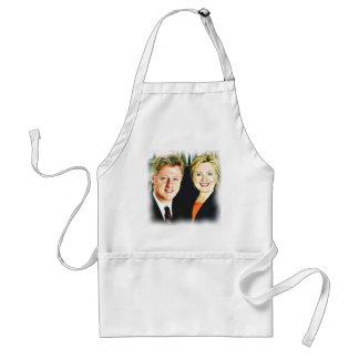 Presidente Bill Clinton & presidente Hillary Avental