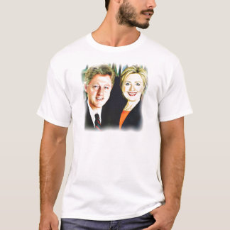 Presidente Bill Clinton & presidente Hillary Camiseta