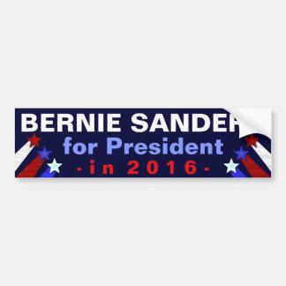 Presidente das máquinas de lixar de Bernie eleição Adesivo Para Carro