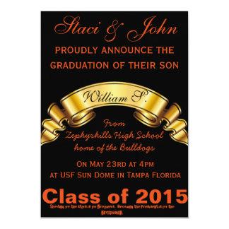 Presidente Graduação de Futrue Convite 12.7 X 17.78cm