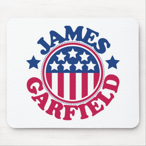 Presidente James Garfield dos E.U. Mousepad