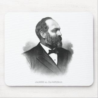Presidente James Garfield Mouse Pad