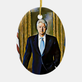 Presidente Lembrança Ornamento de Bill Clinton