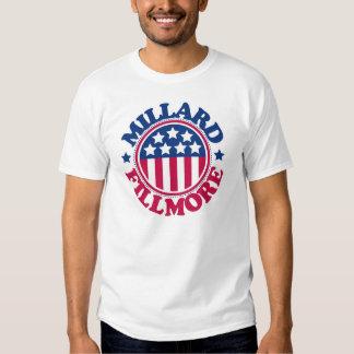 Presidente Millard Fillmore dos E.U. Camisetas