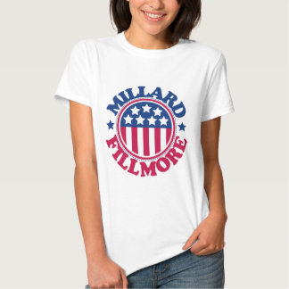 Presidente Millard Fillmore dos E.U. Tshirts