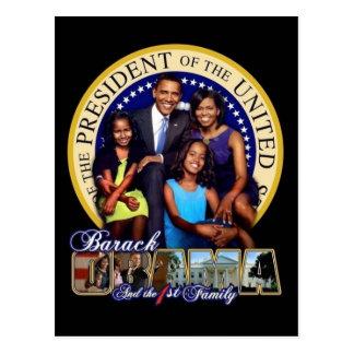 Presidente Obama & primeiro cartão da família