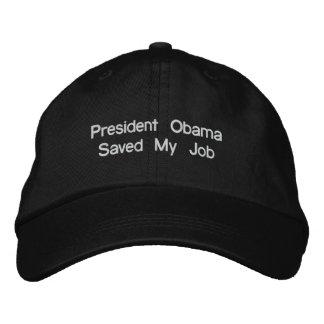 Presidente Obama Saved Meu Trabalho Bones