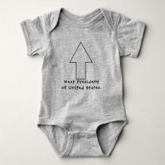 Presidente seguinte da camisa do bebê dos EUA