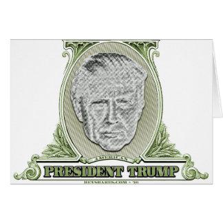 Presidente Trunfo Dólar Cartão