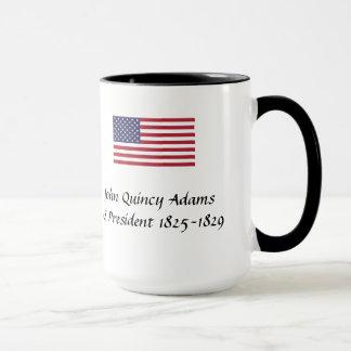 Presidentes Lembrança Caneca - John Quincy Adams