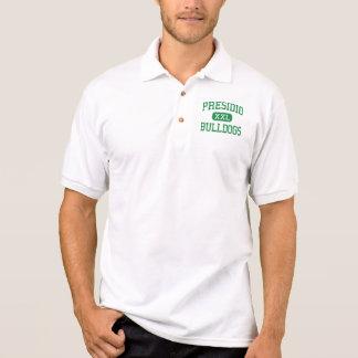 Presidio - buldogues - segundo grau - arizona de camiseta polo