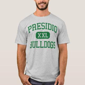 Presidio - buldogues - segundo grau - arizona de camiseta