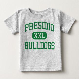 Presidio - buldogues - segundo grau - arizona de camiseta para bebê