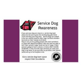 preste serviços de manutenção ao cartão do cão cartão de visita