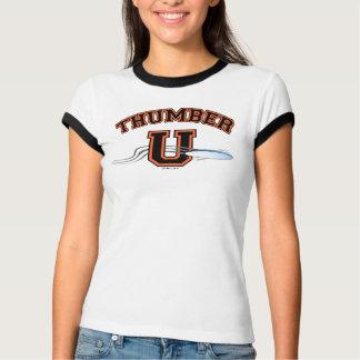 PRETO ALARANJADO final de THUMBER U Tshirts