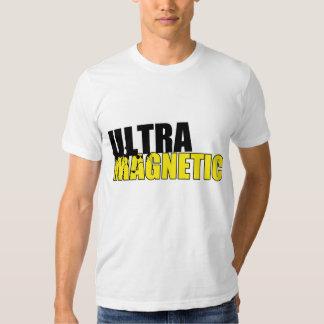 Preto & amarelo ultra magnéticos camiseta
