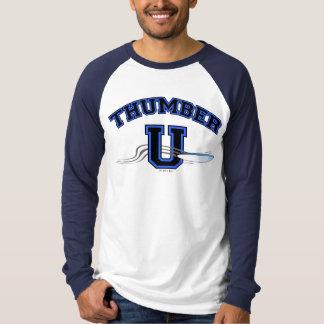 PRETO AZUL final de THUMBER U Camisetas