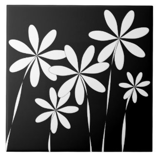 Preto & branco da flor Bliss2