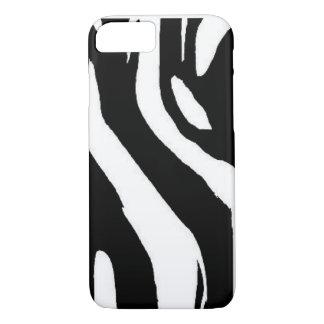 Preto & branco do design da ilustração do capa iPhone 7
