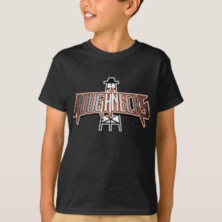 Preto da camisa do Roughneck T dos miúdos