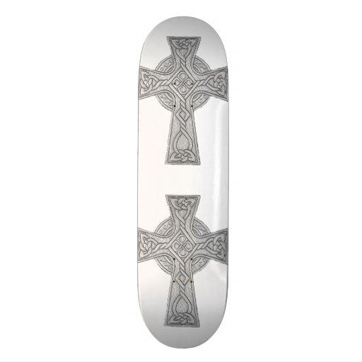 Preto da cruz celta 3 skate