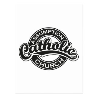 Preto da igreja Católica da suposição Cartões Postais