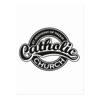 Preto da igreja Católica de St Augustine Cartões Postais