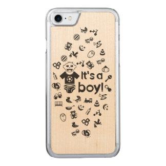 Preto da ilustração é UM MENINO! Capa iPhone 7 Carved
