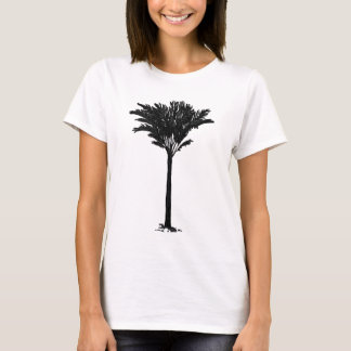 Preto da palmeira 2 os presentes de Zazzle do Camiseta