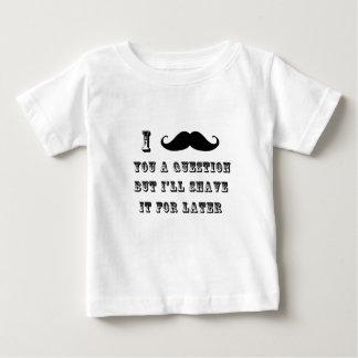 Preto das camisas do bigode T T-shirt