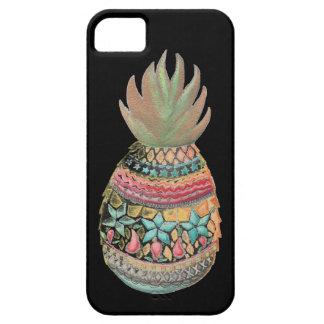 Preto das capas de iphone do abacaxi do Natal