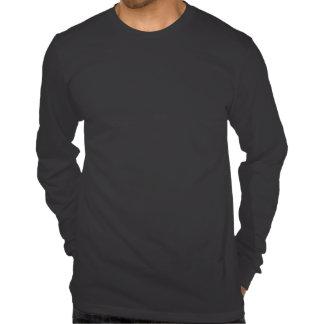 preto de Irún que funciona a camisa longa da luva  Tshirts