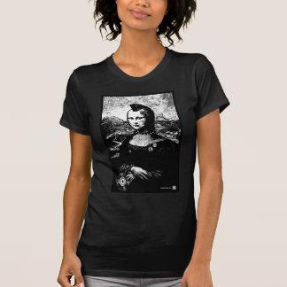 Preto de Wm do Mohawk de Mona Camiseta