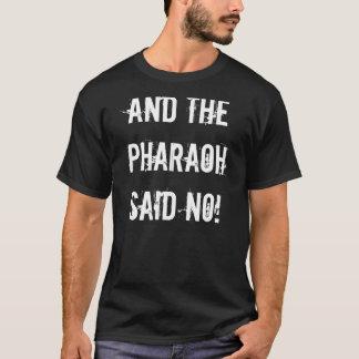 Preto do faraó t-shirt